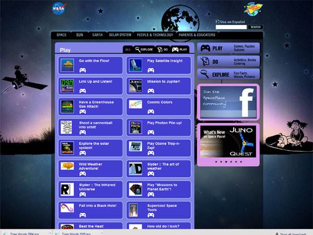 NASA Online Games