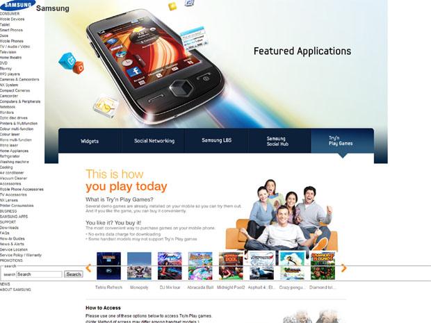 Samsung Games